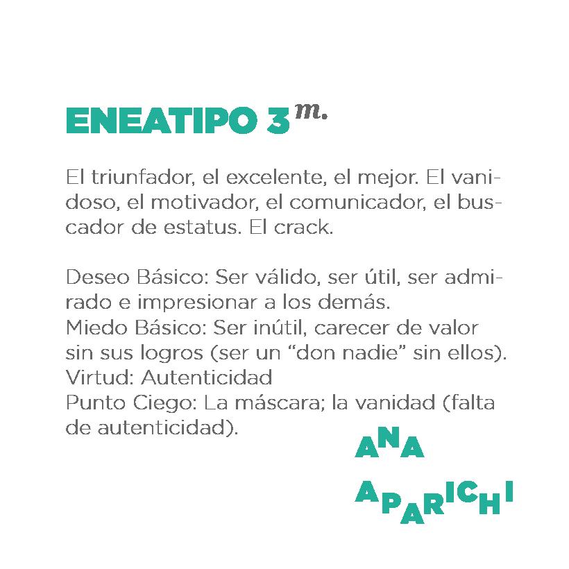ENEATIPO 3 - APARICHI
